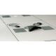 Mediaport Bachmann Conference 4 x 230V, srebrno-szary