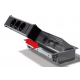 Mediaport Bachmann Coni, chromowany, 6x 230V