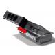 Mediaport Bachmann Coni, stalowy, 6x 230V