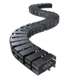 Wąż kablowy Bachmann Cube podłogowy, czarny