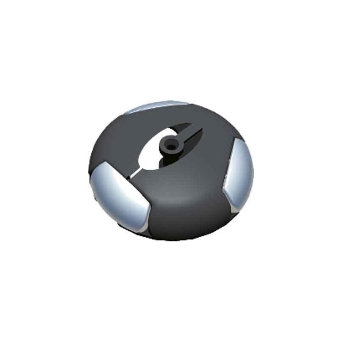 Rozdzielacz do węży kablowych Bachmann Easy-Switch poczwórny, czarny