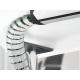 Profil kablowy Schulte EVOline Bridge, mocowany za pomocą taśmy dwustronnej
