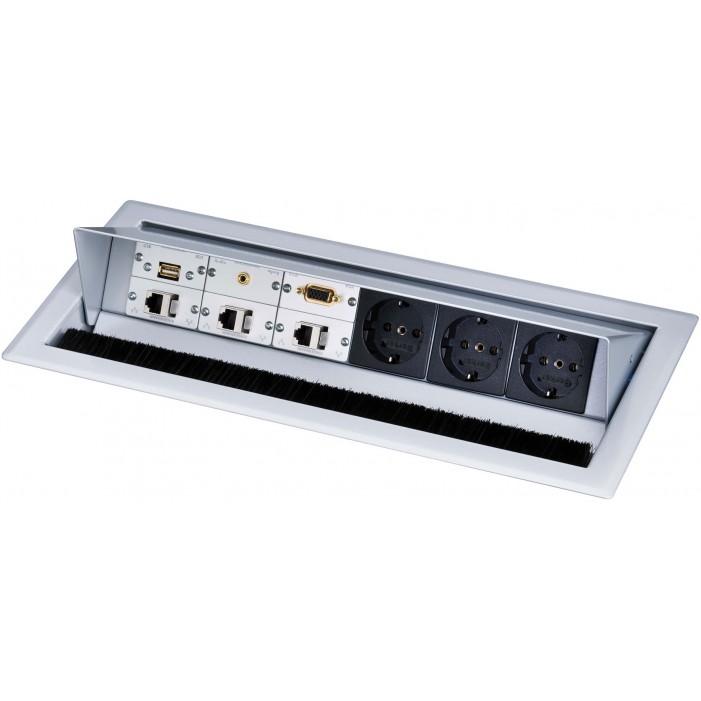 Mediaport Kindermann CablePort Standard, 6-modułowy