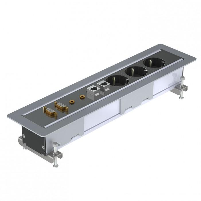 Kindermann CablePort Frame, 6-modułowy