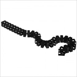 Kręgosłup Quadro - Przedłużenie kręgosłupa Quadro-Set, czarny
