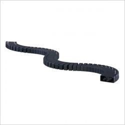 Kręgosłup Flex II - Przedłużenie kręgosłupa Flex II-Set, czarny