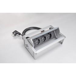 Mediaport automatycznie otwierany AH Meyer Axial Comfort - 3x 230V
