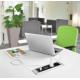 Mediaport biurowy AH Meyer Line - 2x 230V + 2x RJ45 + VGA + Mini Jack