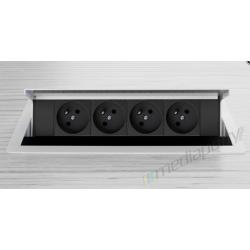Mediaport INTEGRA - 4x230V biały