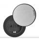 Evoline One 1 gniazdo 230 V STAL INOX klapka, mediaport Schulte Elektrotechnik