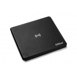 Mediaport Schulte Evoline Square80 Wireless Charger CZARNY 1x230V, 1xUSB charger, 1xRJ45 CAT6