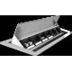 Mediaport, 6 modułów, 3m., szczotka, Schulte EVOline Flip Top Large